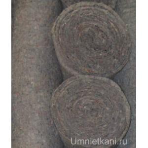 Полотно нетканое холстопрошивное (серое) 150-180