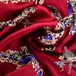 Атлас красивый для платья