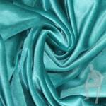 Бархат ткань бирюзовая