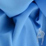 Габардин голубого цвета