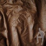 Кожа искусственная коричневая