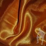 Креп-сатин золотистый