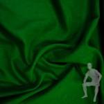Ткань лен зеленый