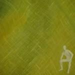 Ткань лен желтый