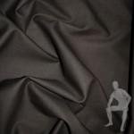 Ткань лен коричневый