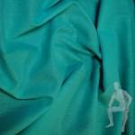 Ткань лен бирюзовый