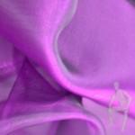 Органза фиолетовая