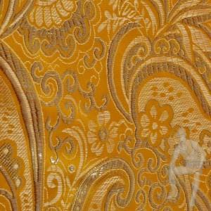 Парча ткань золотая