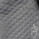 Стеганая ткань серая