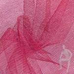 Ткань жёсткая сетка розовая