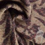 Пальтовая ткань с узором