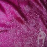 Жаккард ярко-розовый